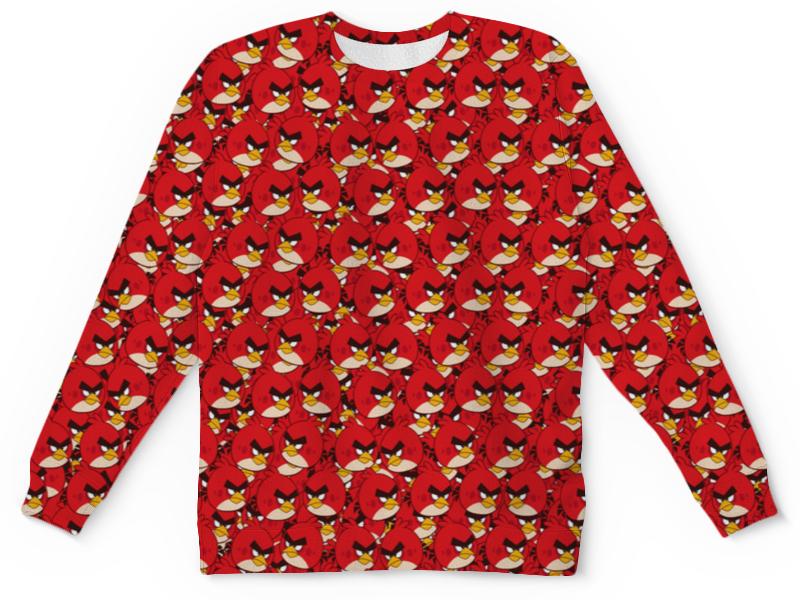Детский свитшот унисекс Printio Angry birds свитшот print bar flower birds