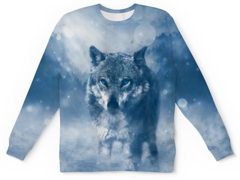 где купить Printio Волк с голубыми глазами по лучшей цене