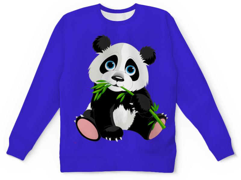 Детский свитшот унисекс Printio Любимый мишка свитшот print bar панда гангста