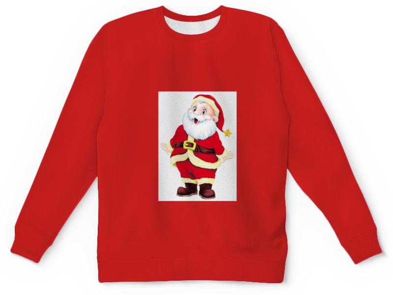Детский свитшот унисекс Printio Санта клаус.