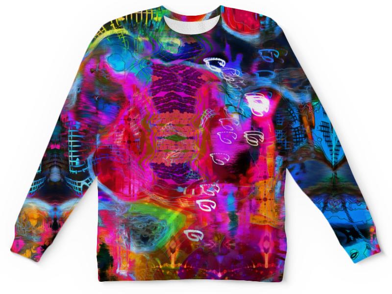 Детский свитшот унисекс Printio Abstract raster 372 стоимость