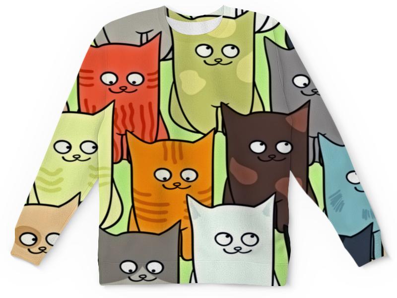 Детский свитшот унисекс Printio Котята полуперсидские котята в москве