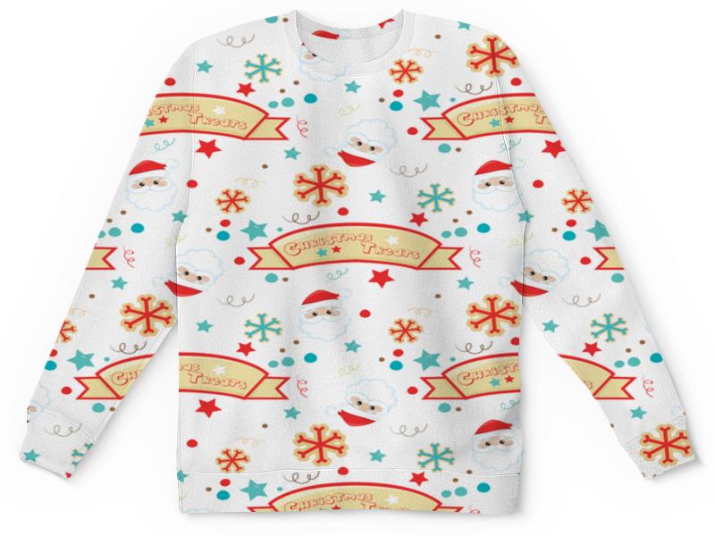 Детский свитшот унисекс Printio Christmas детский свитшот унисекс printio merry christmas