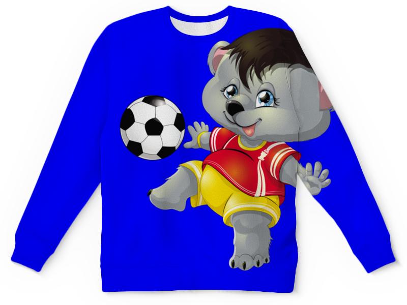 все цены на Детский свитшот унисекс Printio Да здравствует футбол. (2) онлайн