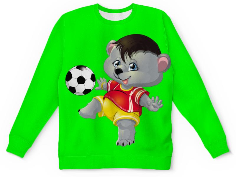 Детский свитшот унисекс Printio Спортсмен миша детский диван футболист