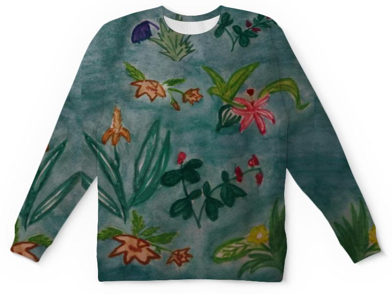 Детский свитшот унисекс Printio Ботаника андреева и ботаника