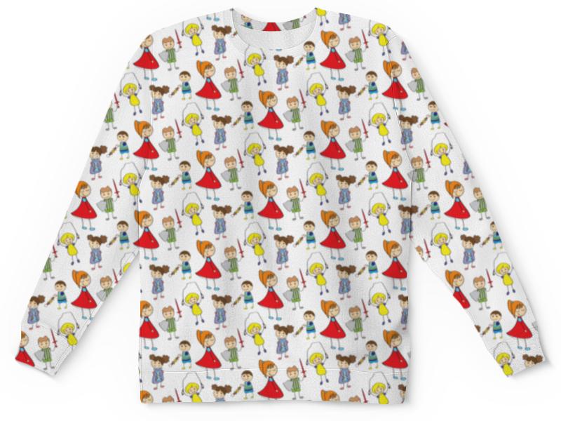 Детский свитшот унисекс Printio Детки с характером евгения белонощенко 0 рожденные с характером