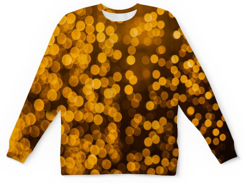Детский свитшот унисекс Printio Золотой gangxun золотой цвет