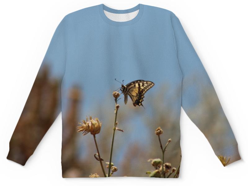 Детский свитшот унисекс Printio Бабочка махаон детский свитшот унисекс printio бабочка