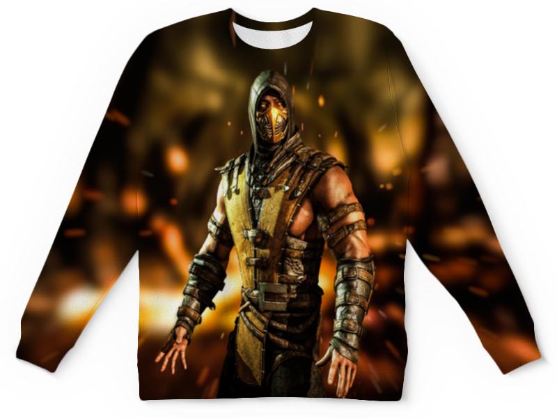 Printio Mortal kombat (scorpion) цена и фото