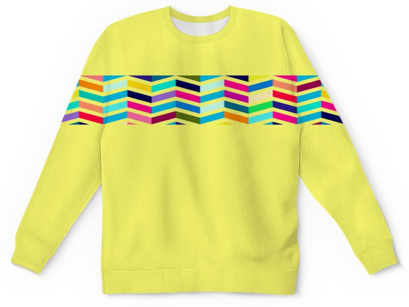 Детский свитшот унисекс Printio Геометрические фигурки разноцветные. игровые фигурки смешарики фигурки gt7894 3 шт