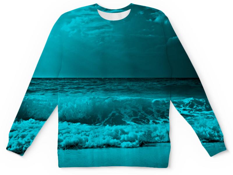 Детский свитшот унисекс Printio Морские волны свитшот print bar морские мечты