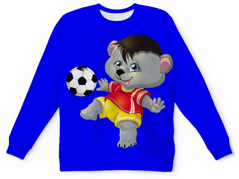 Детский свитшот унисекс Printio Спортсмен миша (2) детский диван футболист