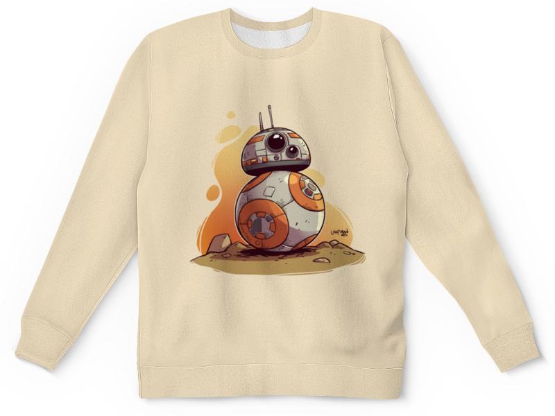 Детский свитшот унисекс Printio Звездные войны: дроид бб-8 / bb-8 бб