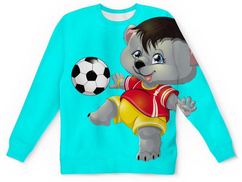 все цены на Детский свитшот унисекс Printio Да здравствует футбол. (1) онлайн
