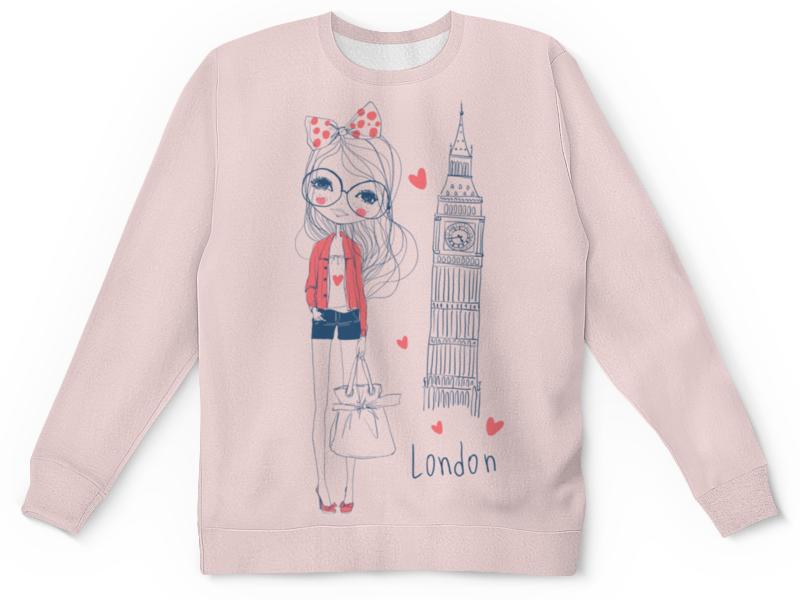 Детский свитшот унисекс Printio Лондон анна нетребко лондон