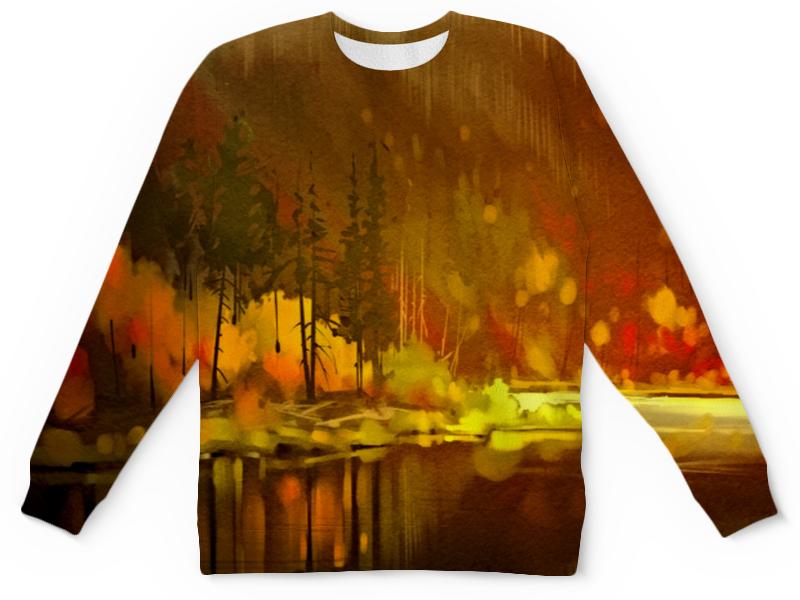 Детский свитшот унисекс Printio Осенний лес стайлер redmond rci 2312