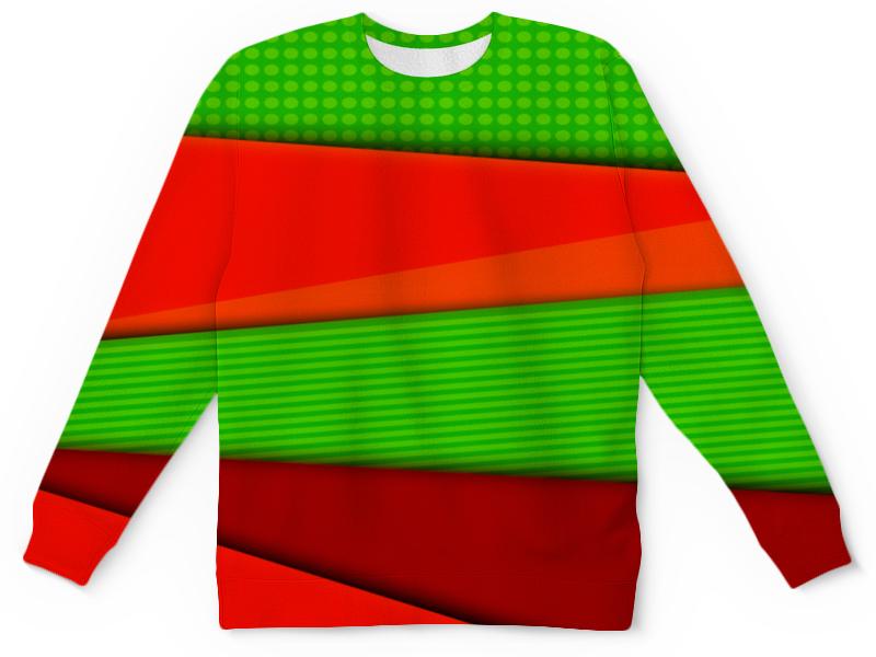 Детский свитшот унисекс Printio Цветные полосы юбка карандаш printio цветные полосы