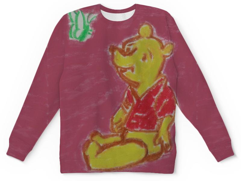 где купить Детский свитшот унисекс Printio Мишка с бабочкой по лучшей цене