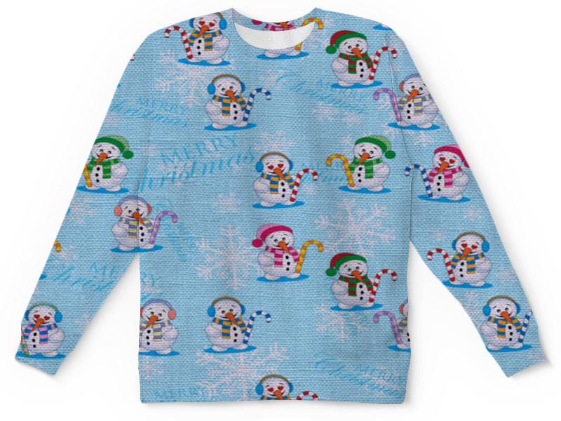 Детский свитшот унисекс Printio Снеговики кружка printio снеговики
