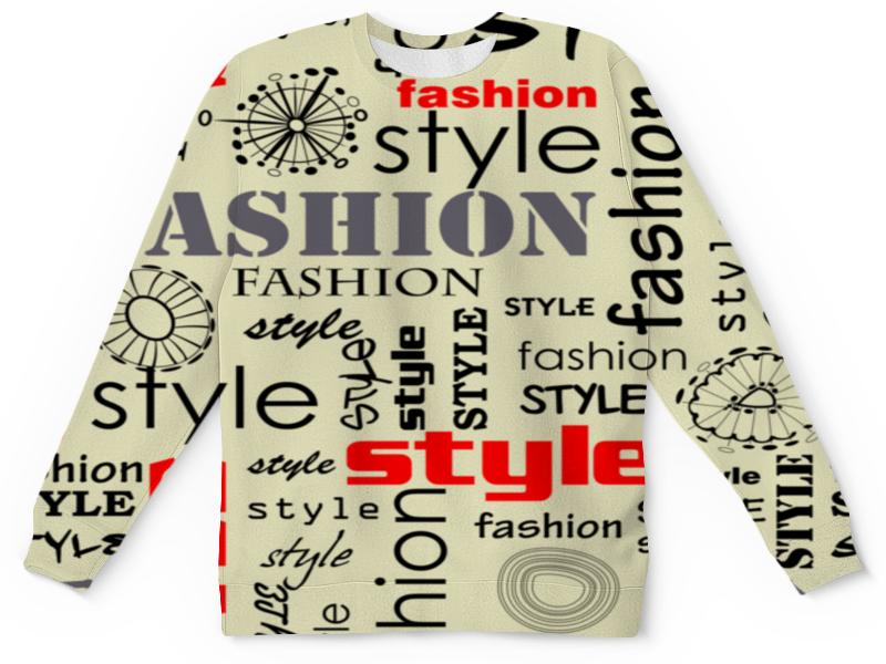 Детский свитшот унисекс Printio Fashion style бомбер printio fashion style