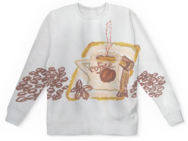 Детский свитшот унисекс Printio Утренний кофе утренний свет m