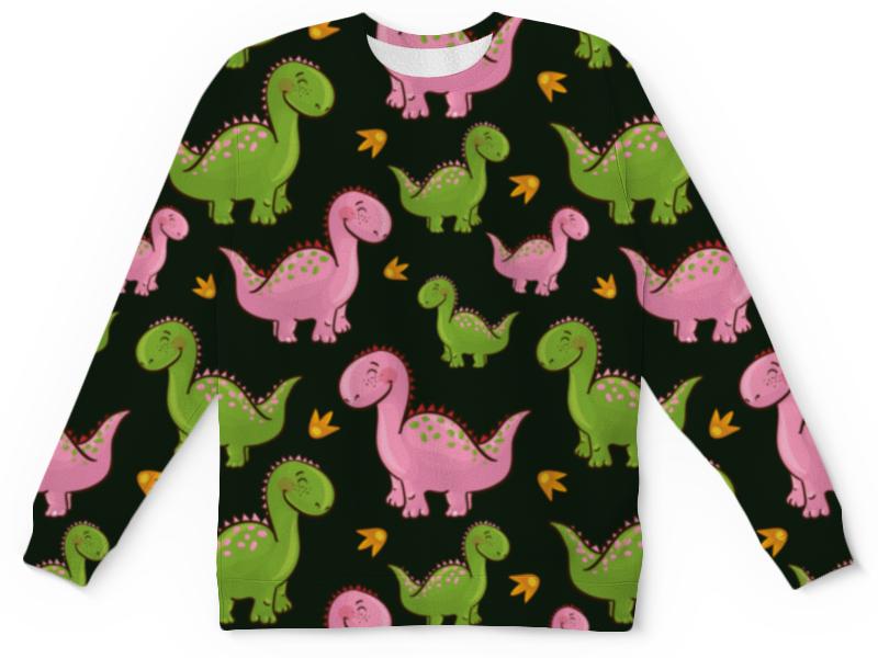 Детский свитшот унисекс Printio Динозавры цена