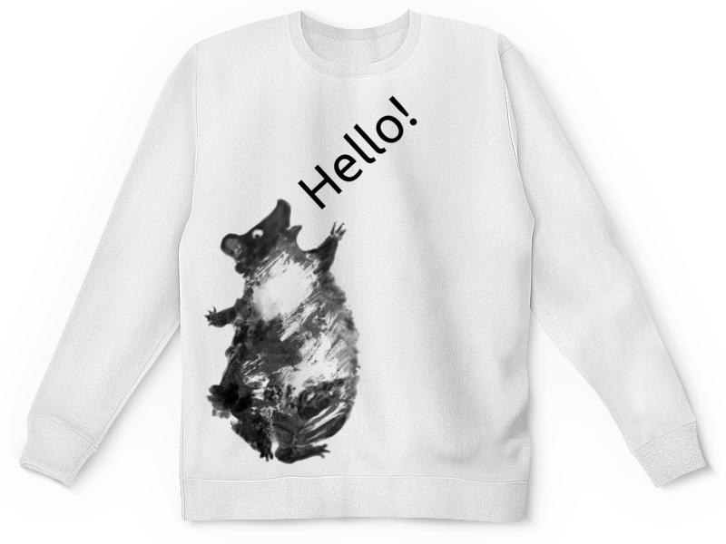 где купить Детский свитшот унисекс Printio Привет, мишка! по лучшей цене