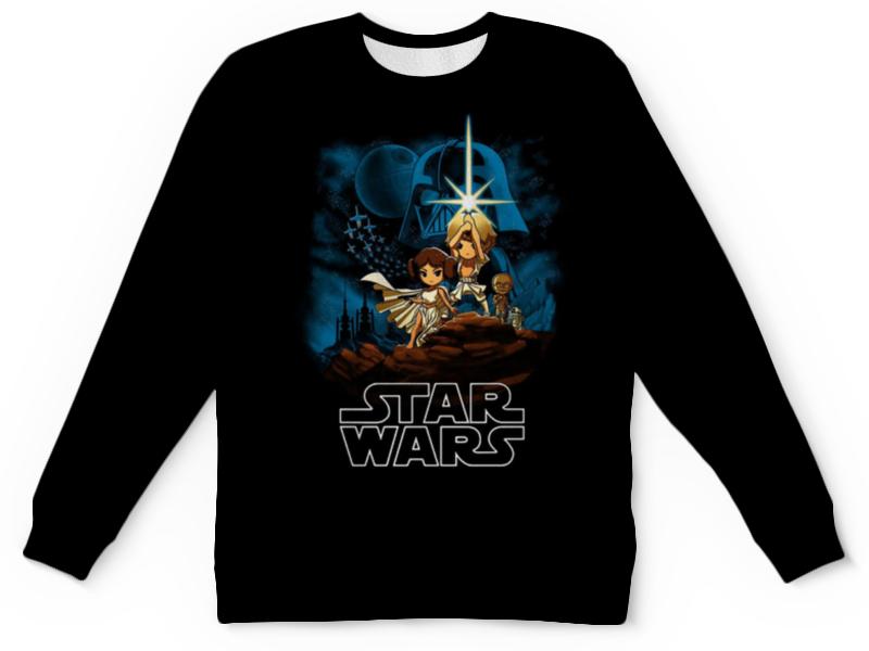 Детский свитшот унисекс Printio Star wars lepin star wars millennium falcon building blocks