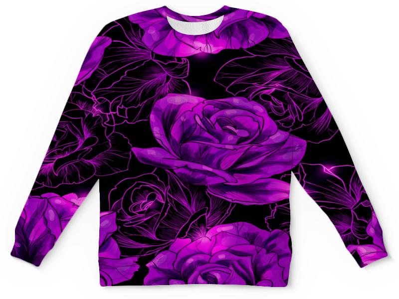 Детский свитшот унисекс Printio Розы в цвету цена
