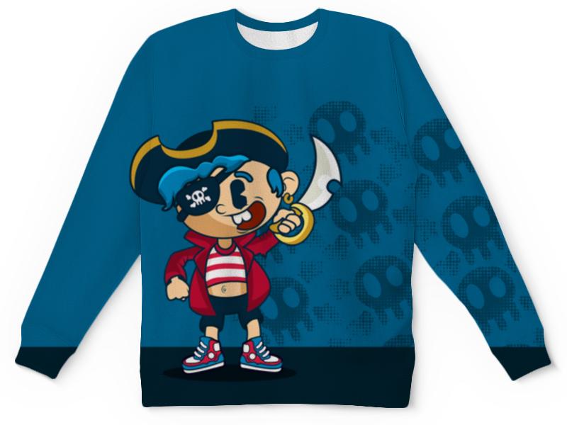 Детский свитшот унисекс Printio Модный пиратик детский свитшот унисекс printio free guy