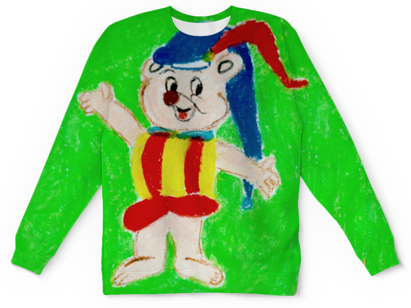 Детский свитшот унисекс Printio Мишка дэвид макки элмер и пропавший мишка