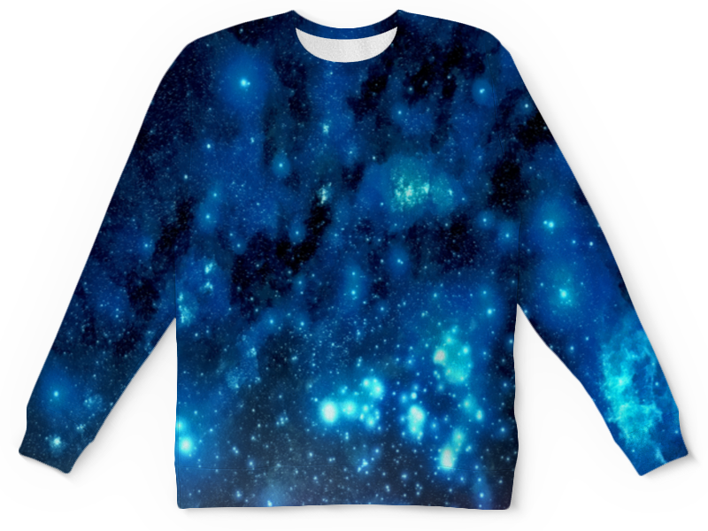 Детский свитшот унисекс Printio Звездное небо платье летнее printio звездное небо