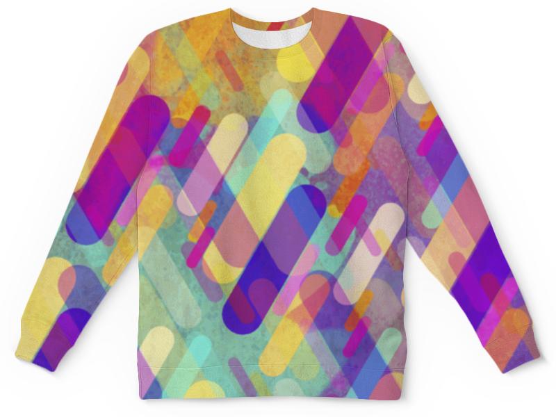 Детский свитшот унисекс Printio Разноцветная абстракция
