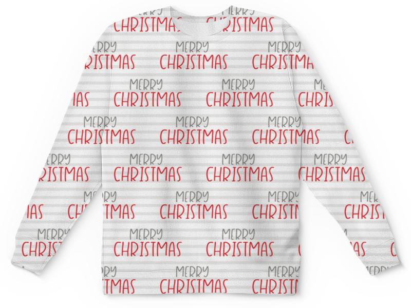 Фото - Детский свитшот унисекс Printio Christmas свитшот print bar christmas pattern