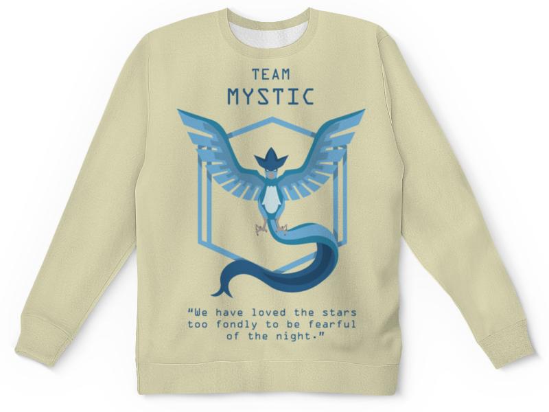 Детский свитшот унисекс Printio Team mystic mystic пуловер