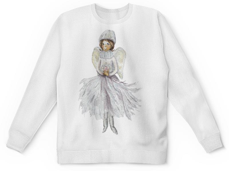 Детский свитшот унисекс Printio Снежный ангел