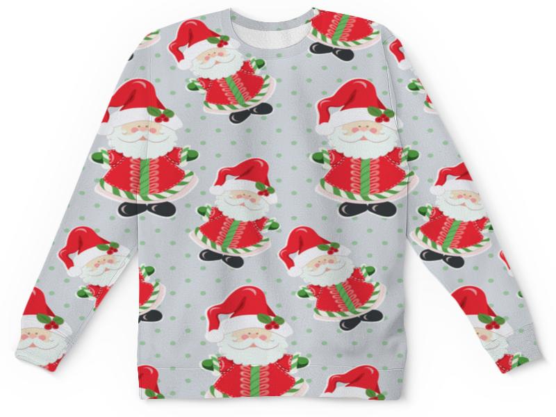 Детский свитшот унисекс Printio Дед мороз мягкие игрушки woody o time плюшевый дед мороз