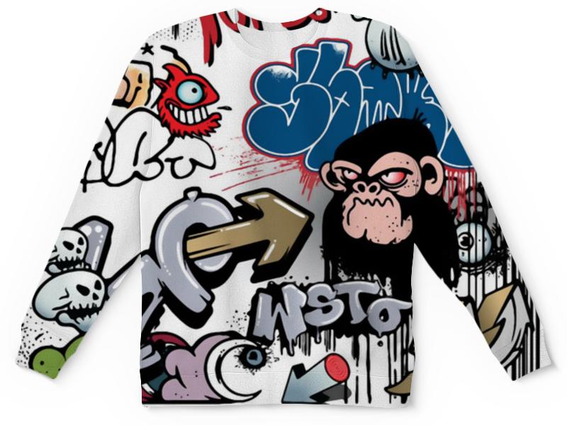 Детский свитшот унисекс Printio Граффити (1)