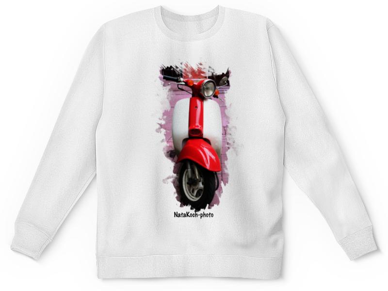 Детский свитшот унисекс Printio Скутер купить б у японский скутер в одессе