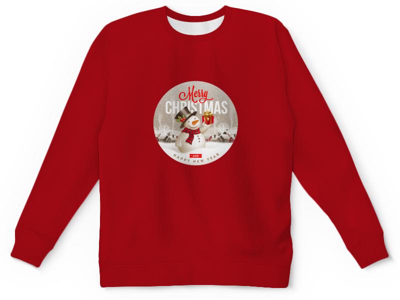 Детский свитшот унисекс Printio Christmas свитшот print bar christmas fox