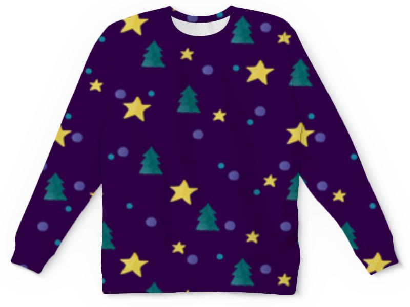 Детский свитшот унисекс Printio Звезды и елки свитшот print bar 1994 рождение новой звезды