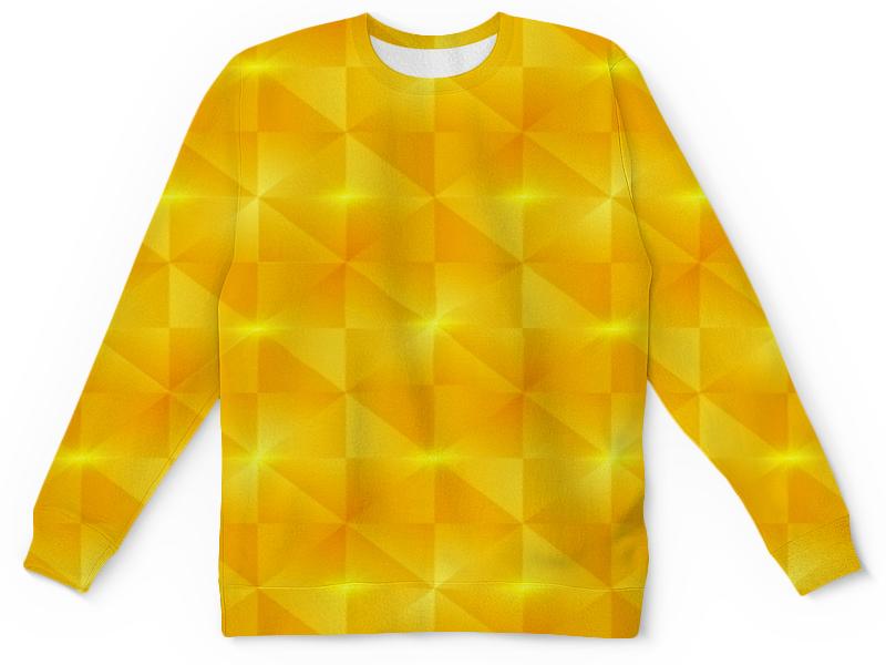 Детский свитшот унисекс Printio Желтые квадраты детский свитшот унисекс printio желтые цветы