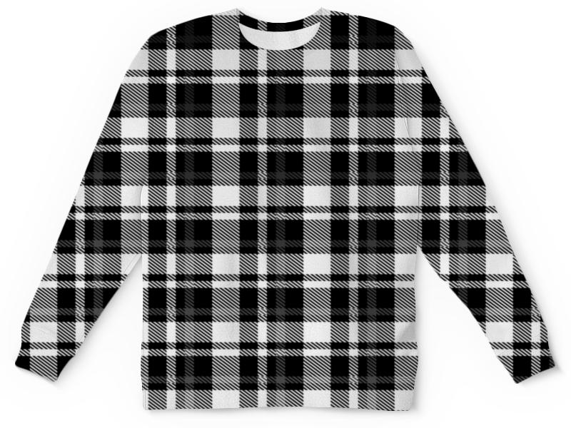 Фото - Детский свитшот унисекс Printio Черно-белая клетка детский свитшот унисекс printio ежевика