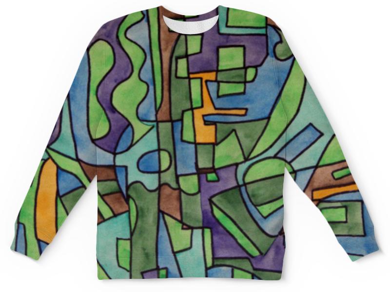 Детский свитшот унисекс Printio W`zzzzcx`90.1 юбка в складку printio w zzzzcx 90 1