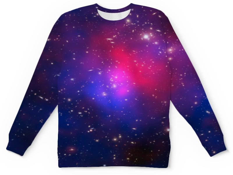 Детский свитшот унисекс Printio Звездное небо