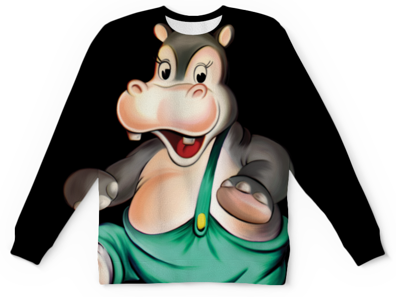 Детский свитшот унисекс Printio Мой любимый карапуз. футболка print bar тут мой любимый пузожитель