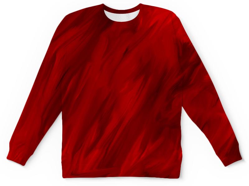 Детский свитшот унисекс Printio Красные краски детский свитшот унисекс printio разноцветные краски