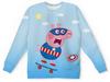 """Детский свитшот унисекс """"СуперПепп"""" - юмор, пародия, символ нового года, супергерой, свинка пеппа"""