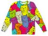 """Детский свитшот унисекс """"Цветные котята"""" - кот, животные, кошки, коты, котята"""